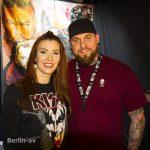 Diana Richter zusammen mit Murmel Mo auf dem 7. Tattoo Festival