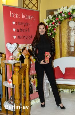 Hochzeitsrednerin Diana Richter auf der Hochzeitsmesse Romantica 2018