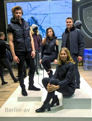Models in Kreationen von nobis