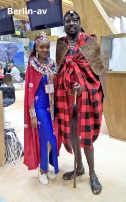 ITB 2018 - Berlin. Gäste aus Kenia