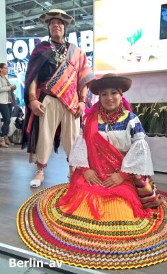 ITB 2018 - Gäste aus Kolumbien