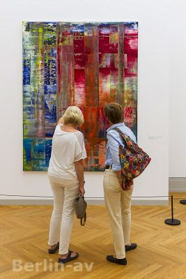 Gerhard Richter mit der Ausstellung Abstraktion im Museum Barberini