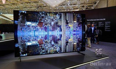 8K Fernseher von Samsung bei der IFA 2018