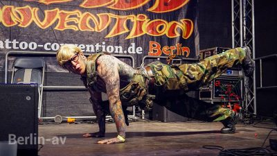 Die 28. Tattoo Convention Berlin