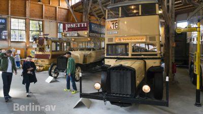Sammlung historischer Berliner Busse