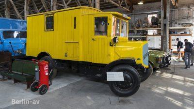 Bergmann-Elektro-Paketauslieferungswagen von 1944 - Depot für Kommunalverkehr