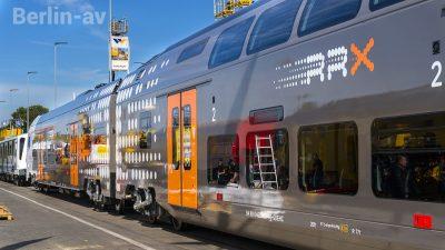 Der Rhein-Ruhr-Express von Siemens setzt neue Maßstäbe beim Fahrgastkomfort - Innotrans 2018