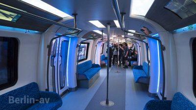 Neue Metro aus China - Futuristisch - Innotrans 2018