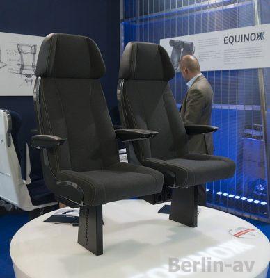 Sitze von Growag auf der Innotrans 2018