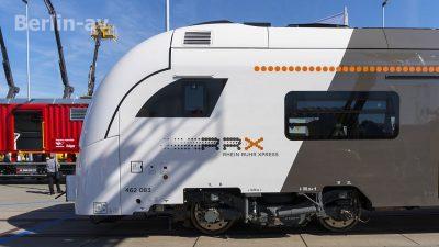 Rhein-Ruhr-Express RRX auf der Innotrans 2018