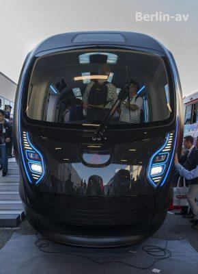 Front der chinesischen Metro - Innotrans 2018