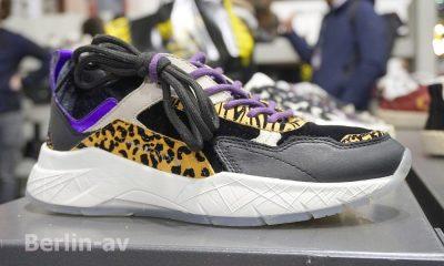 Premium Modemesse - Animal Print am Schuh als Detail