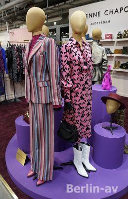 Heiss: Streifen und Aliens bei Fabienne Chapot - Premium Modemesse 2019