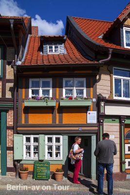 Das Kleinste Haus der Stadt