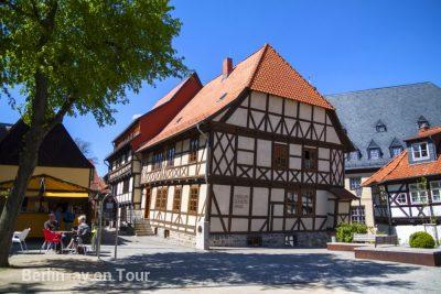 Wernigerode - Das Schiefe Haus ist sehr sehenswert