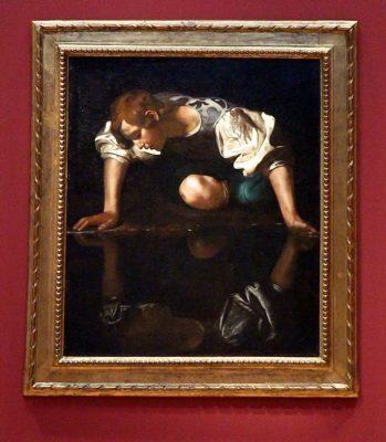 """Caravaggios """"Narziss"""" im Museum Barberini"""