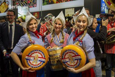 Käse aus den Niederlanden, charmant präsentiert auf der Grünen Woche 2020