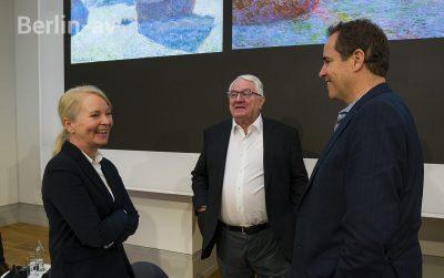 Dr. Ortrud Westheider, Hasso Plattner und Christoph Heinrich